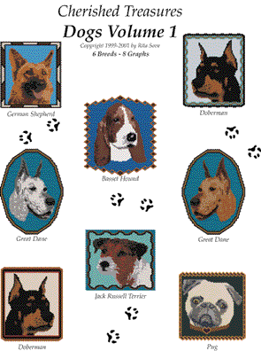 Cherished Treasures, Dogs Volume 1