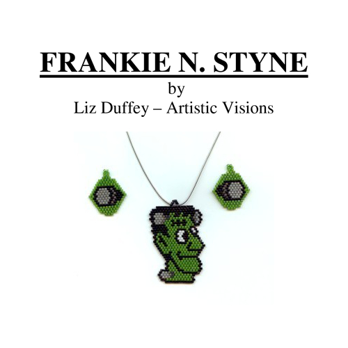 Frankie N. Styne Pendant and Earring Set