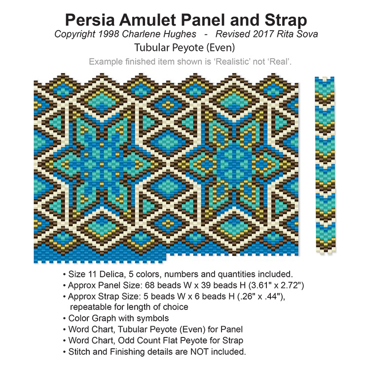 Persia Amulet Panel and Strap