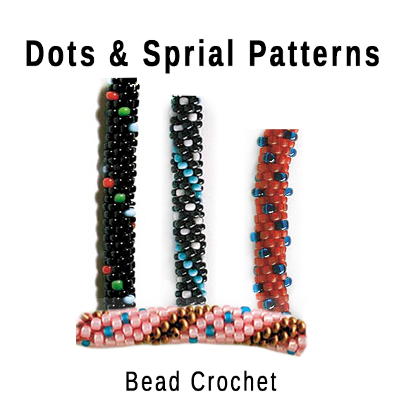 Bead Crochet 5 Dots & Spiral Patterns