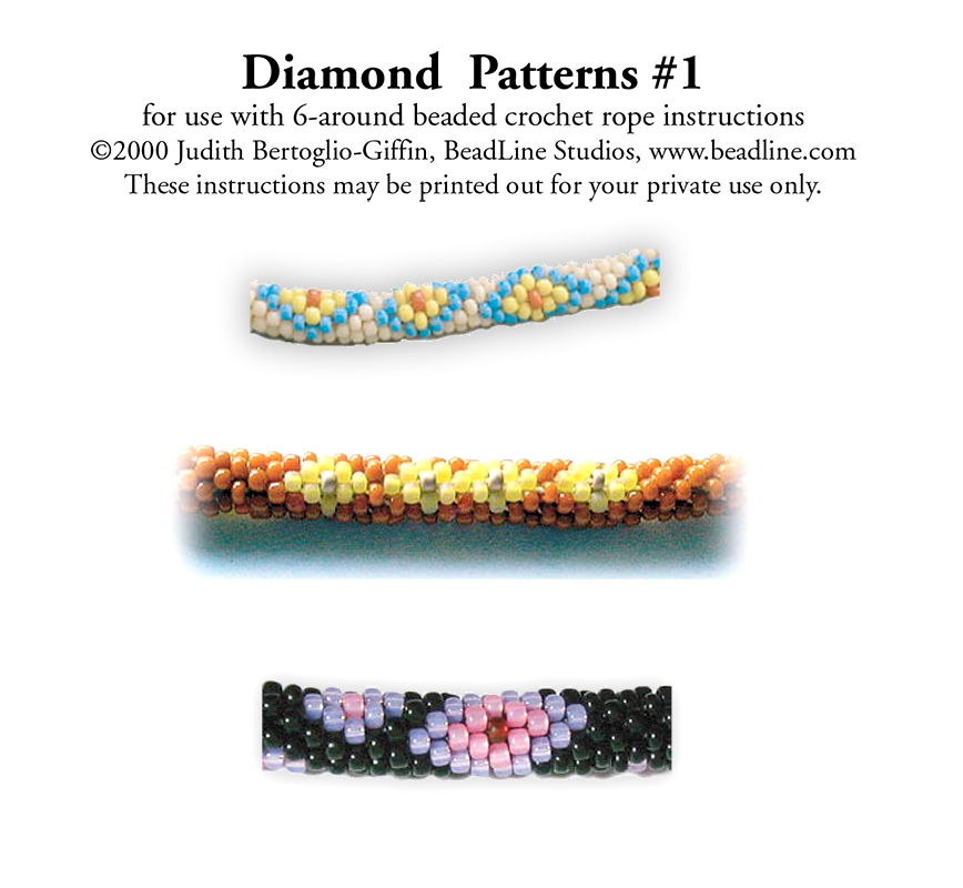 Bead Crochet Diamond Patterns 1