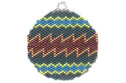 CONTEMPORARY SOUTHWEST ORNAMENT / SUNCATCHER