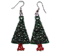 Christmas Tree Earring