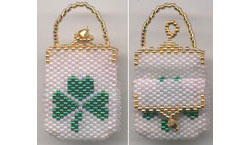 SHAMROCK MINIATURE PURSE
