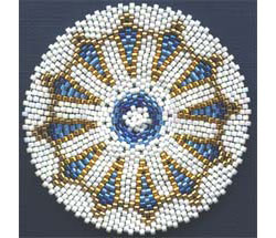 ARROWHEADS MANDALA FOR REALLY, REALLY ROUND PEYOTE