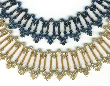 Crystal Bugle Necklace Pattern