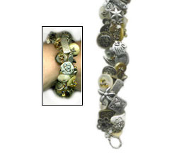 Any Old Button Bracelet