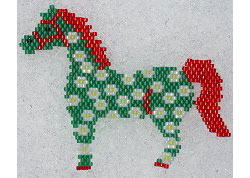 Pony in Spring Pin
