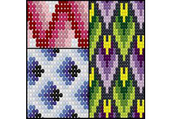 Bargello Pattern Pack
