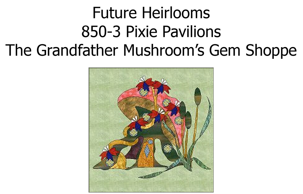 850-3 Grandfather Mushrooms Gem Shoppe