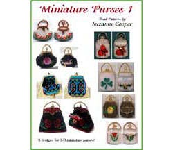 MINIATURE PURSES 1 BEAD PATTERN E-BOOK