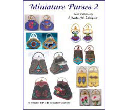 MINIATURE PURSES 2 BEAD PATTERN E-BOOK