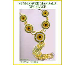 SUNFLOWER MANDALA NECKLACE