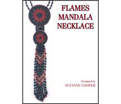 FLAMES MANDALA NECKLACE E-PATTERN