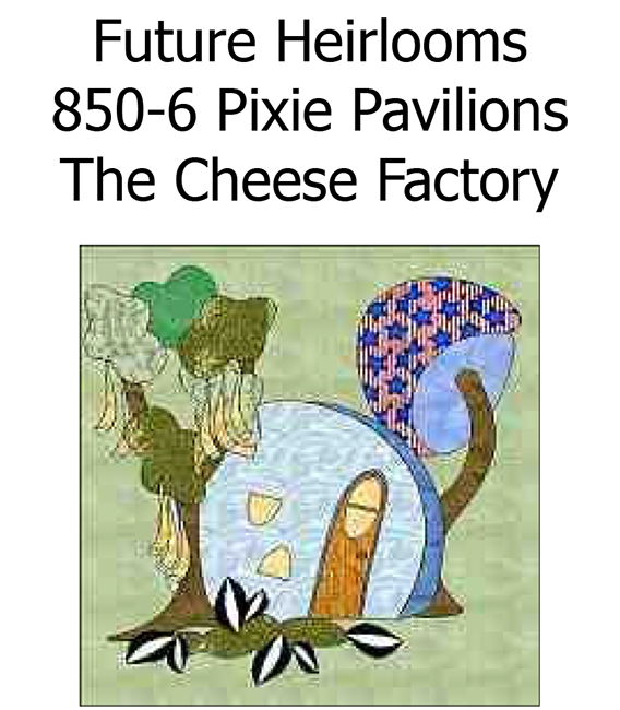 850-6 The Cheese Factory