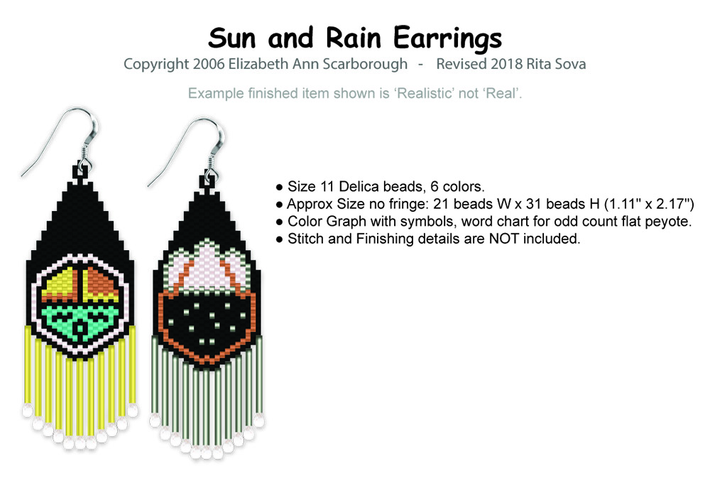 Sun and Rain Earrings