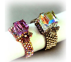 "Crystal Baguette ""CRUISE"" Ring"