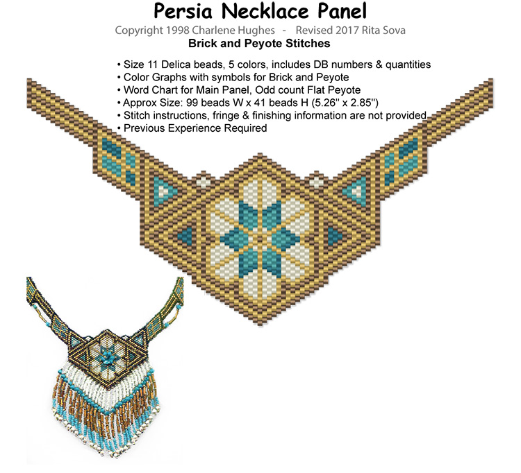 Persia Necklace Panel