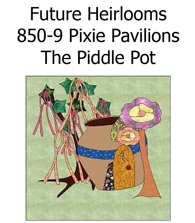 850-9 The Piddle Pot