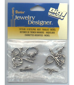 Toggle Assortment Nickel
