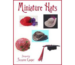 MINIATURE HATS BEADWORK E-BOOK
