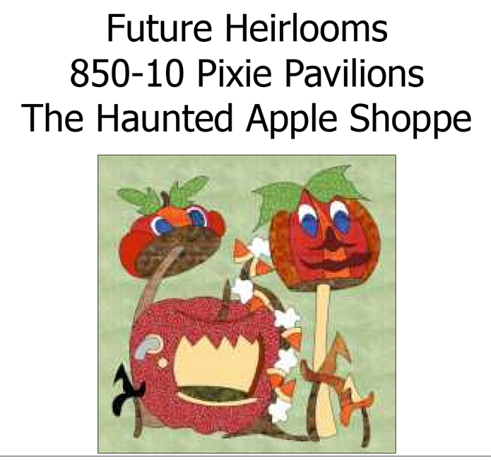 850-10 The Haunted Apple Shoppe
