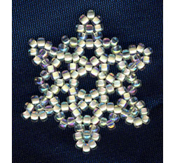 Mini Snowflake #2 Ornament