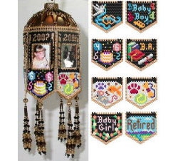 Scrapbook Memories Beaded Photo Frame Ornaments Happenings &